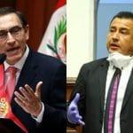 Investigarán a Pérez por insultar a Vizcarra