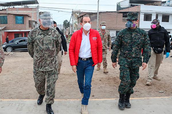 Martos: «Jamás utilizaríamos a las Fuerzas Armadas en actos políticos»