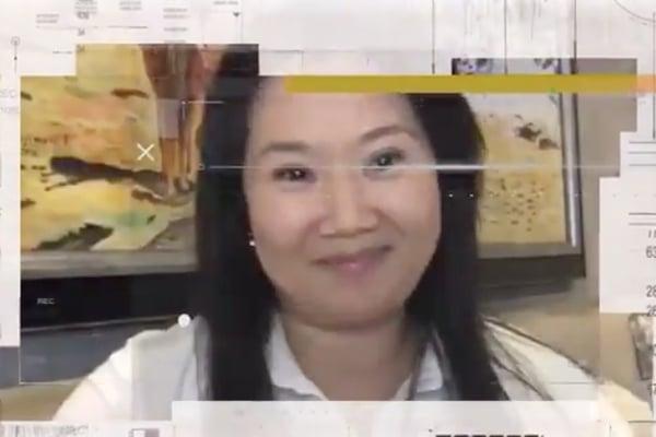 Keiko Fujimori anuncia su «retorno 100 % activo» a Fuerza Popular