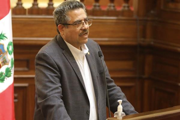 Manuel Merino: «Se han dicho muchas falsedades sobre mí»