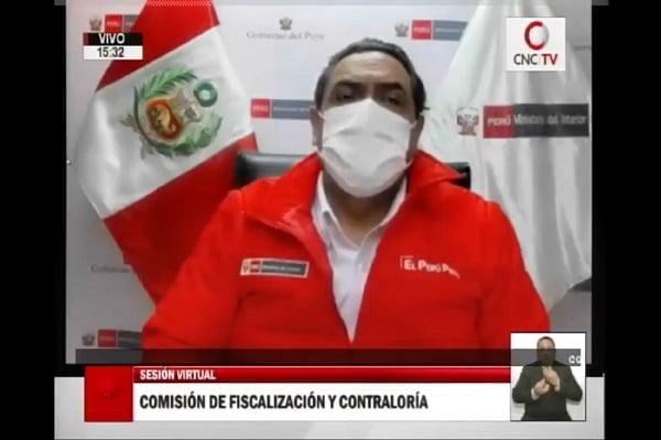"""Ministro Jorge Montoya: """"Mi cargo está permanentemente a disposición del presidente"""""""