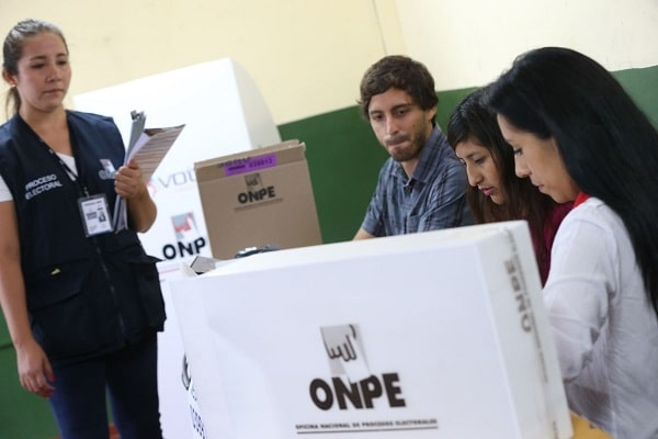 ONPE: mayoría de partidos elegirá a sus candidatos a través de delegados