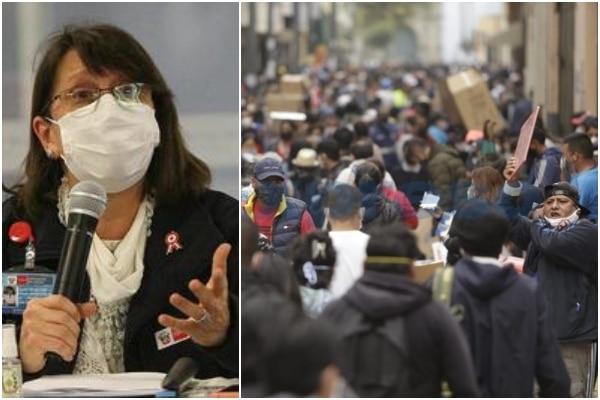 Pilar Mazzetti: El Minsa se está organizando para fortalecer el sistema de salud ante una eventual segunda ola del COVID-19