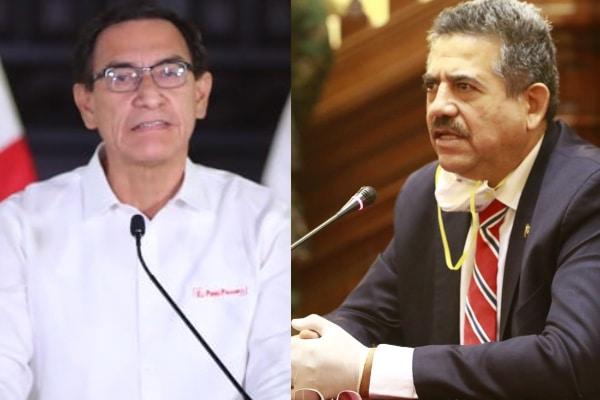 Martín Vizcarra califica de «conspiración» las llamadas de Merino a las Fuerzas Armadas