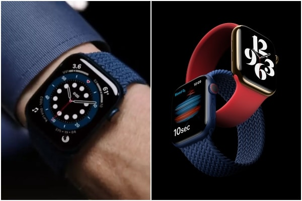 Apple presentó su nuevo modelo de reloj inteligente, el Apple Watch Series 6