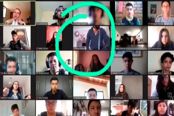 Asaltan vivienda en Ecuador durante clase vía Zoom: «Profe, están robando en casa de Majo» | VIDEO