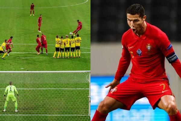 Cristiano Ronaldo llegó a los 101 goles con Portugal y va por el récord de Ali Daei