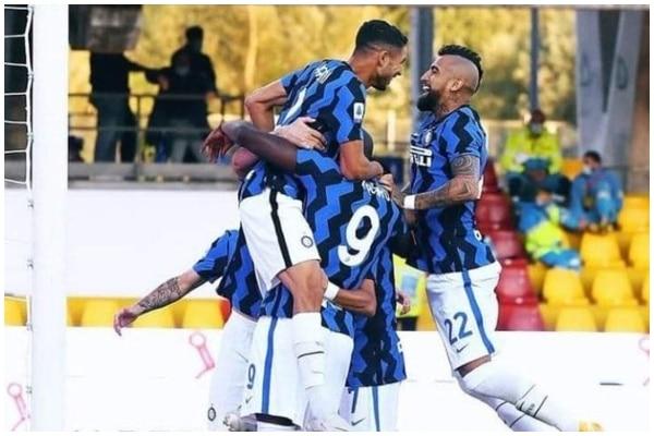 Inter de Milan goleó 5-2 a Benevento por la Serie A