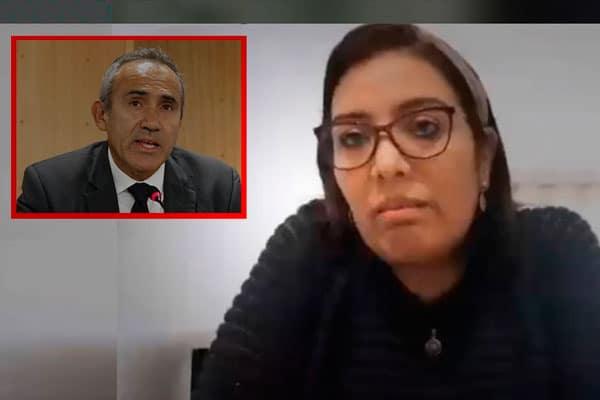 Karem Roca se rectifica: «No son ciertas» expresiones sobre ministro Estremadoyro