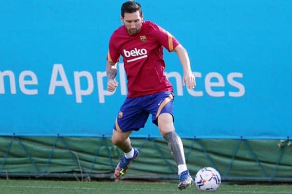 ¡VOLVIÓ EL «10»! Lionel Messi se incorporó a los entrenamientos del FC Barcelona