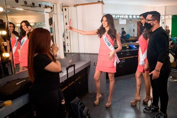 El Miss Venezuela mas anómalo de la historia por la pandemia del Covid-19