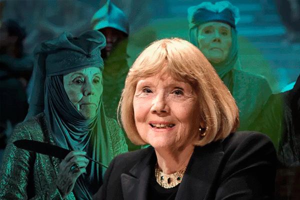 Murió la 'matriarca' Olenna Tyrell