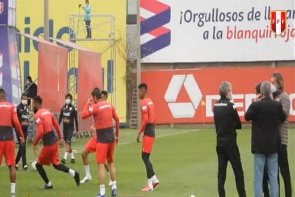 Selección Peruana empezó los entrenamientos con miras al debut en las eliminatorias