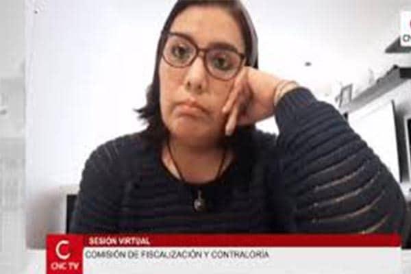Comisión de Fiscalización evalúa citar a Karem Roca