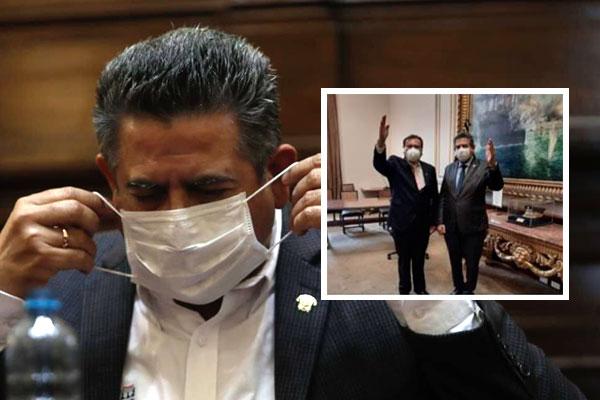 Santiago Arancibia niega conspiración o intimidación contra ministro Miguel Incháustegui