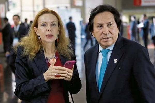 Gobierno peruano oficializa nuevo pedido de extradición contra Alejandro Toledo y Eliane Karp