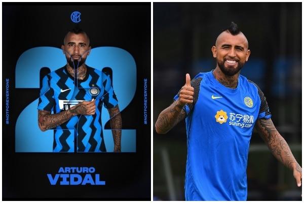 ¡OFICIAL! Arturo Vidal es presentado como nuevo jugador del Inter de Milan