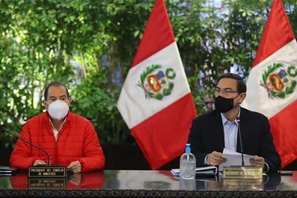 Walter Martos defiende a Martín Vizcarra y asegura que no está buscando inmunidad