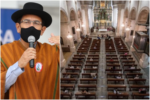 Martín Vizcarra: Desde noviembre se podrían estar abriendo las iglesias con un aforo limitado