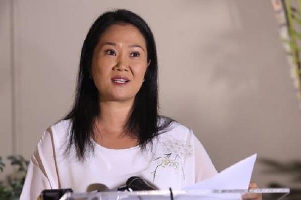 Fujimori asegura que su plan de gobierno será «participativo» y «digital»