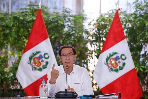 Martín Vizcarra dará mensaje a la Nación tras vacancia presidencial