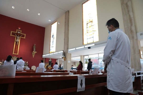 A partir del 15 de noviembre iglesias podrán realizar misas con protocolos sanitarios