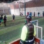 SJM: 21 personas fueron detenidas por jugar fulbito en Pamplona Alta