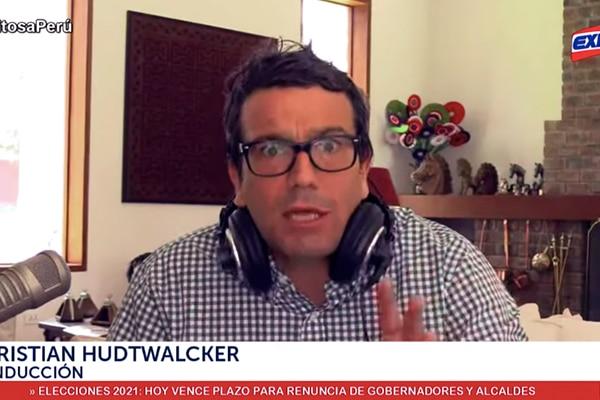 Christian Hudtwalcker: Martín Vizcarra no denunció al 'Club de la Construcción'
