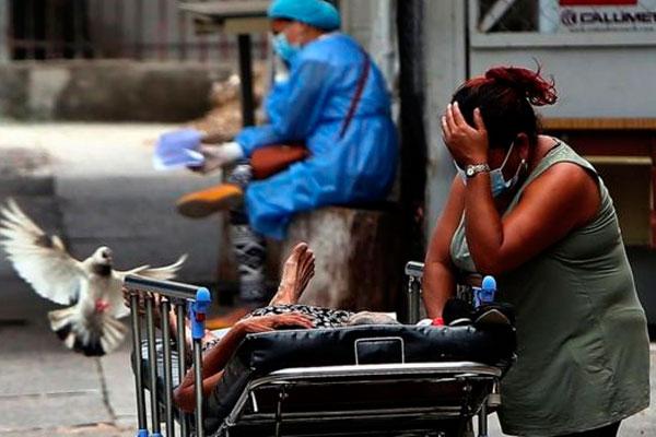Honduras: curva de contagios sigue en crecida tras 7 meses de pandemia