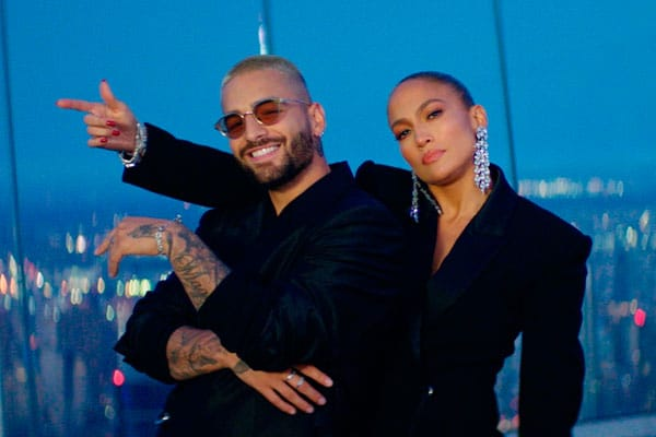 Jennifer López y Maluma calientan Hollywood