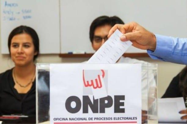 Hoy vence plazo para remitir listas de precandidatos a la ONPE