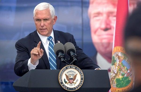 Mike Pence pide en Miami «cuatro años más» de Donald Trump para mantener las sanciones a Cuba