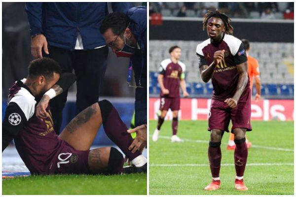 Con lesión de Neymar Jr, PSG pudo vencer a Istambul Basaksehiren (2-0)