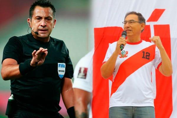 Perú vs. Brasil: Martín Vizcarra arremetió contra árbitro Julio Bascuñán