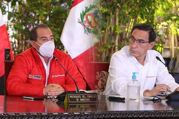 Martos: «El gabinete no defiende al presidente, defiende la gobernabilidad»
