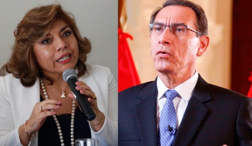 Martín Vizcarra solicita a Zoraida Ávalos que defina qué fiscal lo investigará