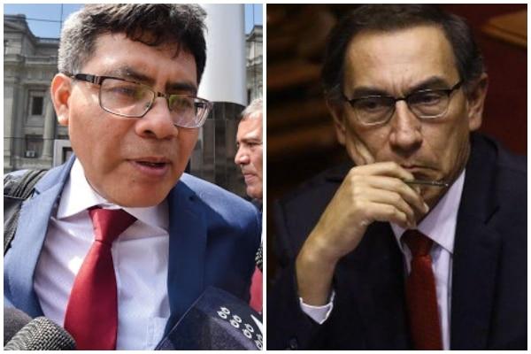Fiscal Germán Juárez reitera citación al presidente Martín Vizcarra para el jueves 12 de noviembre