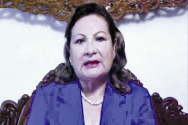 Luz Áurea Sáenz recurrirá al Poder Judicial