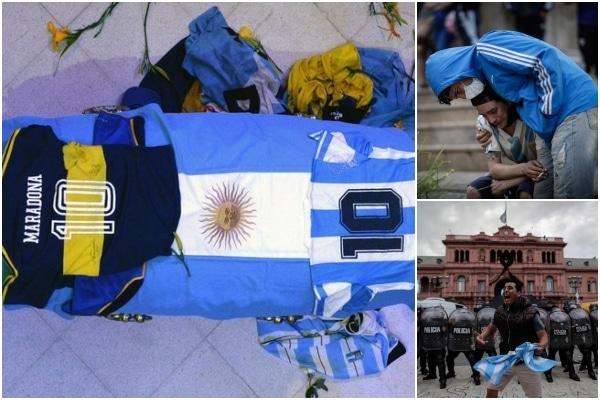 La familia de Maradona pide que el velatorio público termine a las 16:00 horas local en la Casa Rosada | EN VIVO