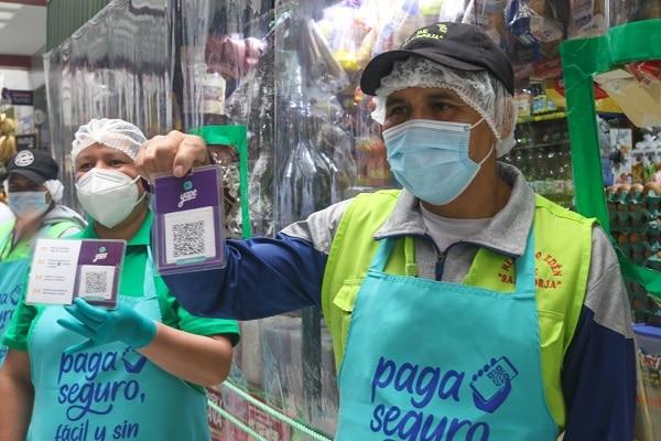 "San Borja: mercados implementan sistema billetera digital ""Pago seguro"""