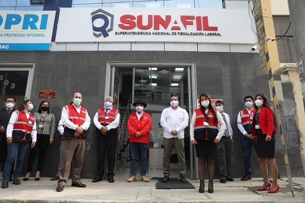Sunafil fortalecerá inspecciones