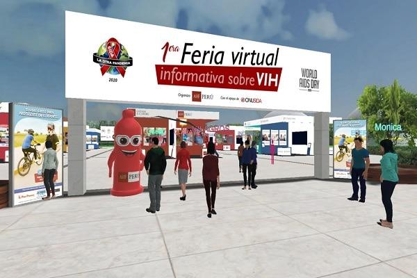 Perú será sede de primera feria virtual e interactiva de prevención de VIH