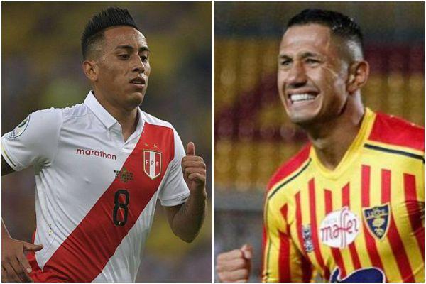 Selección Peruana: Christian Cueva le dio la bienvenida a Gianluca Lapadula