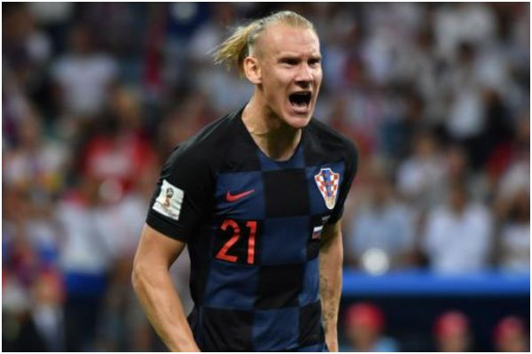 Domagoj Vida, seleccionado de Croacia, dio positivo al descanso del partido ante Turquía