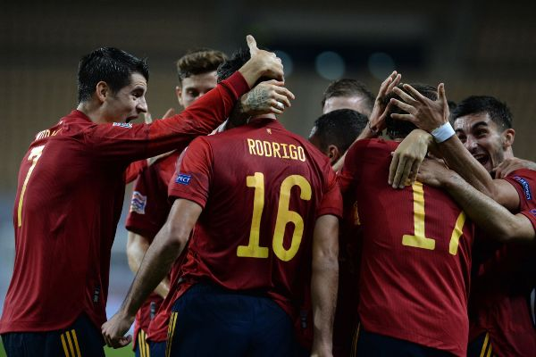 ¡Un baile! España goleó 6-0 a Alemania por la UEFA Nations League