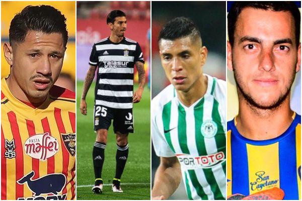 Jornada de futbolistas peruanos en el extranjero