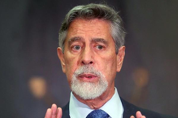 Francisco Sagasti designa a César Cervantes Cárdenas como nuevo comandante general de la PNP