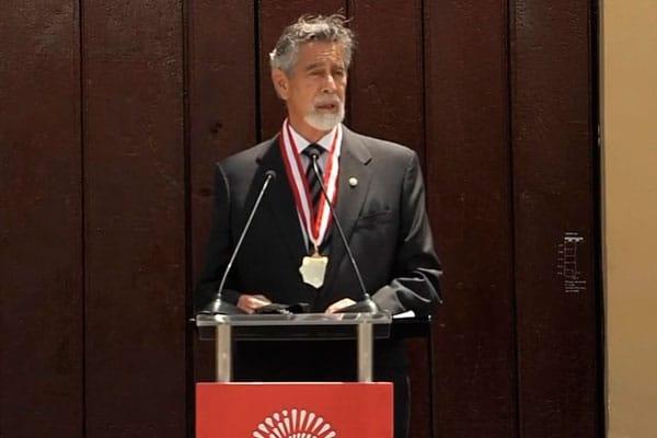Sagasti: vacunas contra pandemia deben ser «bienes públicos globales»