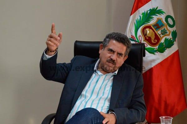 Manuel Merino: «César Gentille me engañó»