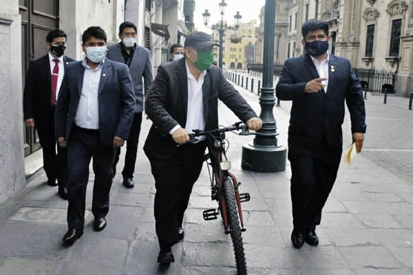 Excura Arana en bicicleta